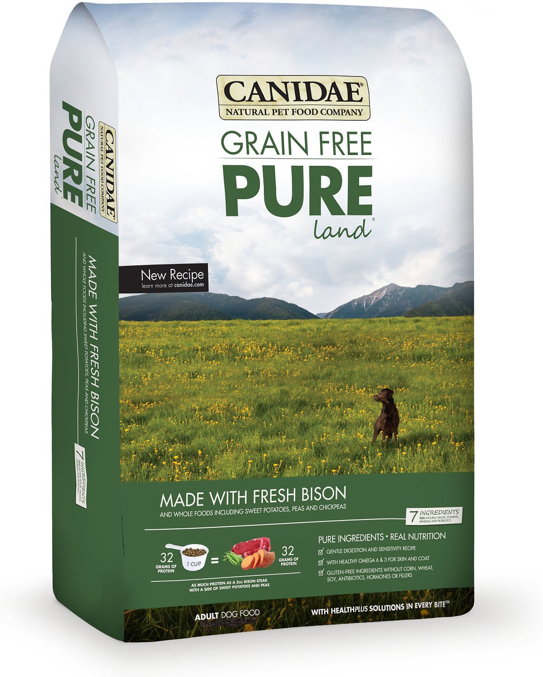 Canidae Dog Food Reviews >> Canidae Grain Free Pure Land Bison Dog Food Review