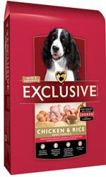 exclusive dog food