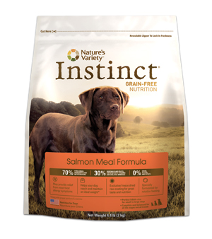 instinct salmon meal dog food