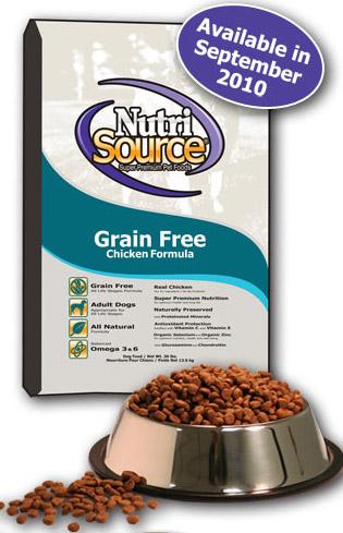 nutrisource grain free chicken dog food