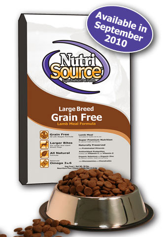 nutrisource grain free large breed lamb meal formula