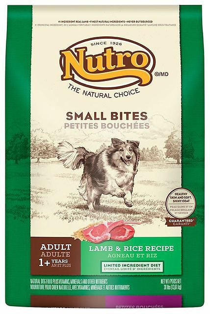 Nutro small bites lamb