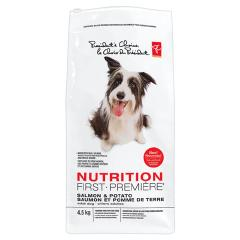 PC Nutrition First Adult Dog Food- Salmon & Potato